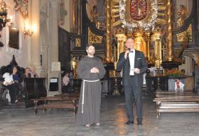 Koncert z okazji Dnia Matki w Klasztorze OO. Bernardynów 27.05.2018 r.